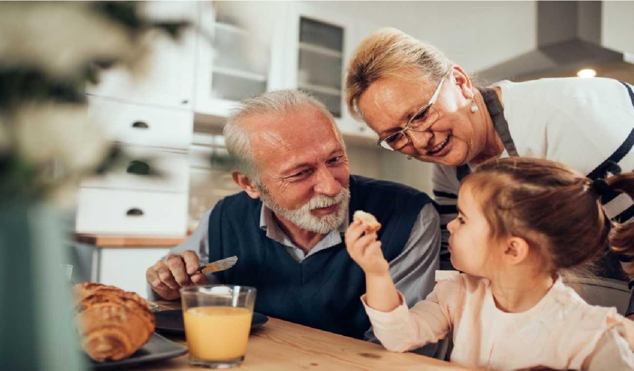 A influência dos avós na alimentação das crianças